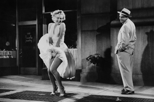 Marilyn Monroe als the Girl in The Seven Year Itch (1955)