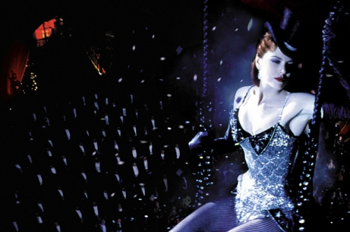 Nicole Kidman als Satine in Moulin Rouge! (2001)